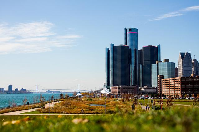 8) Riverwalk, Detroit