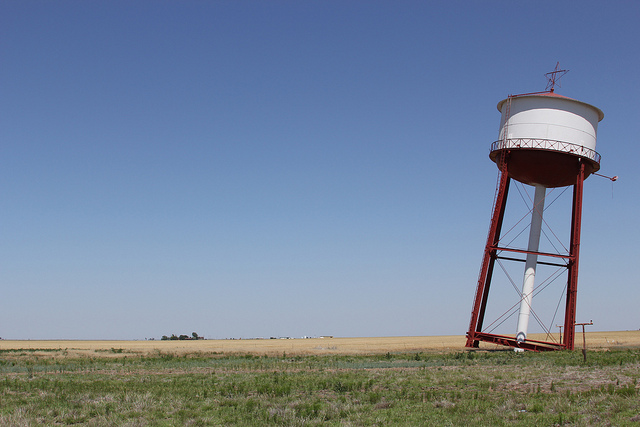 13) Leaning Water Tower