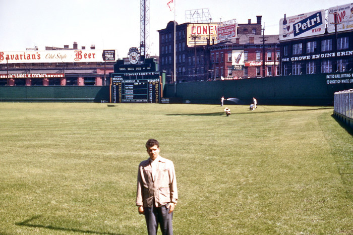 7) Circa 1955: Crosley Field, Cincinnati Redlegs
