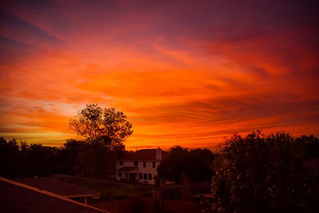 9) Sunrise in Cedar Park