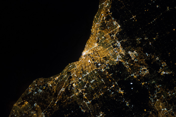 5) When Cleveland was the first city to be lit up with electricity.