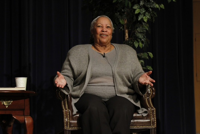 6) Toni Morrison: Yet another beautiful soul who continued that lesson for us.