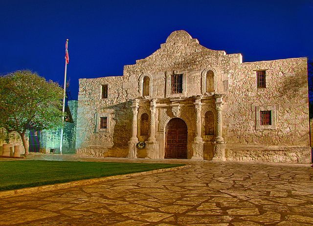 3) Visit The Alamo in San Antonio, the site of the Battle of the Alamo in 1836. After brushing up on history, grab a bite to eat at the world-famous riverwalk (just don't fall in the river. Yes, it's happened before).