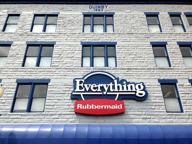 2) At Everything Rubbermaid in Wooster you can find everything, well, Rubbermaid.