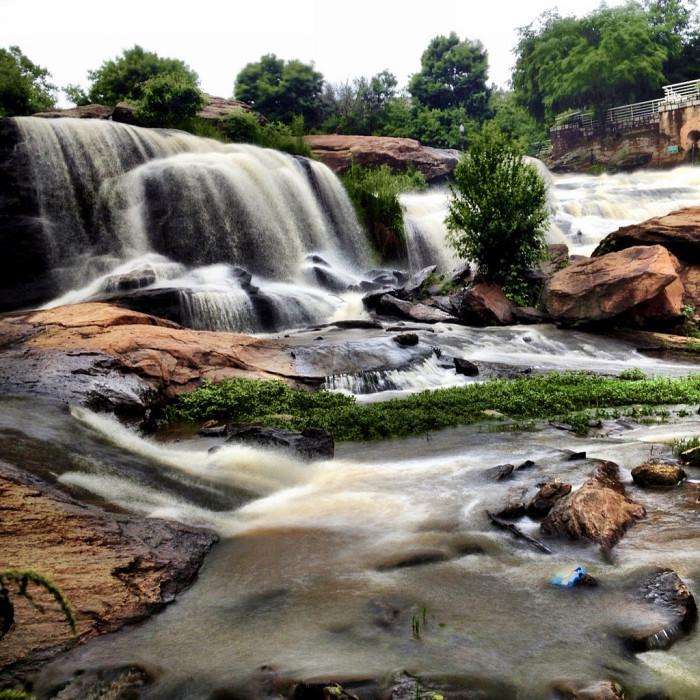 19. Reedy River Falls