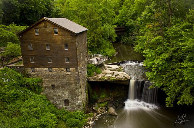 12) Lanternman's Mill (Youngstown, Mill Creek Park)