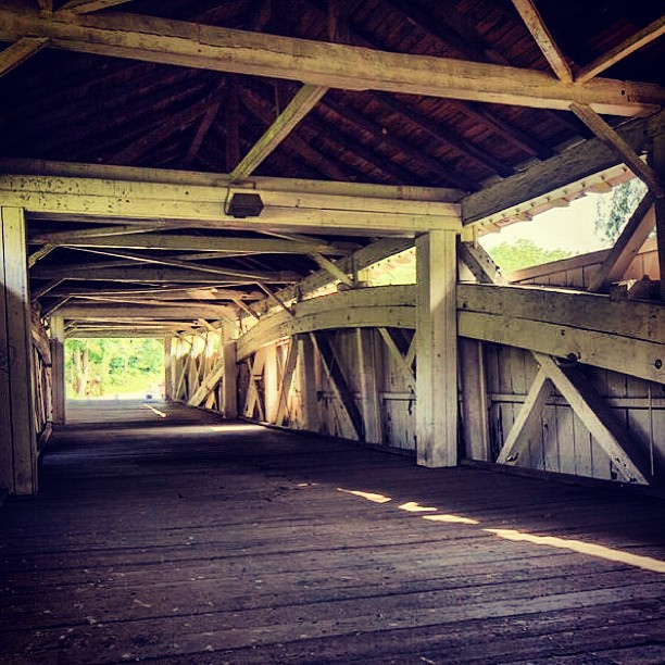 6. Bogart's Covered Bridge in the Lehigh Valley Parkway