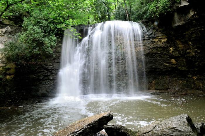 13) Hayden Falls (Columbus) because it's a hidden, intimate spot.