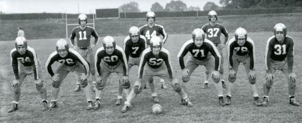 9. The Philadephia Eagles and the Pittsburgh Steelers merged to form the Steagles for one season in 1943. The teams merged because both lost so many players to military service during WWII.