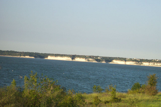 1) Lake Whitney, a reservoir on the Brazos River located about 30 miles north of Waco.