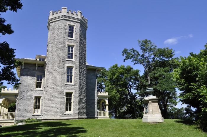 12) Jay Cooke House (Cooke's Castle)