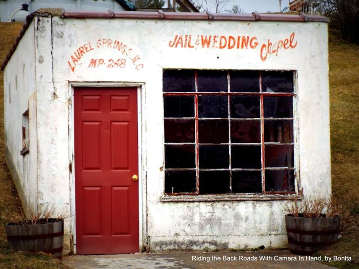 13. I can't help but wonder who all got married at this little chapel in Laurel Springs.
