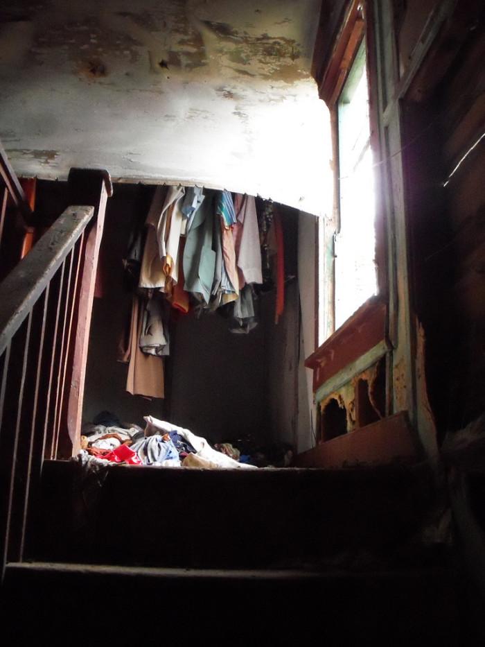 Abandoned Farmhouse Wardrobe