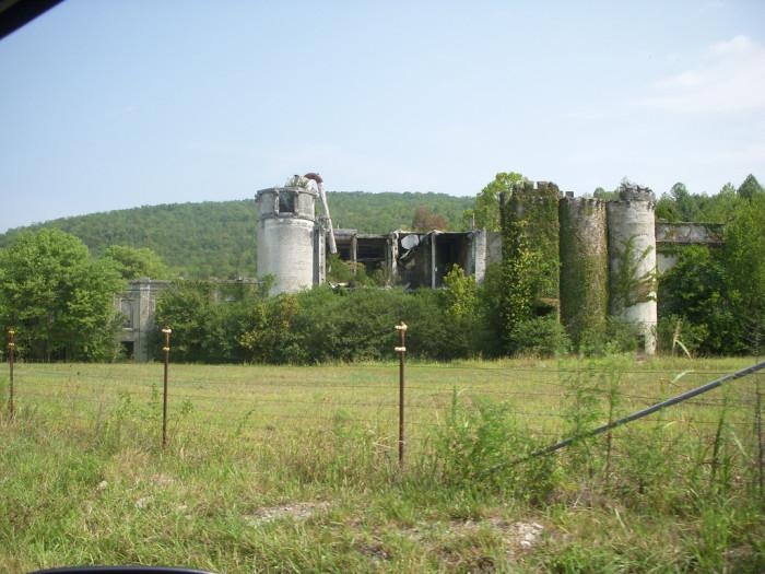 9) Abandoned Mills