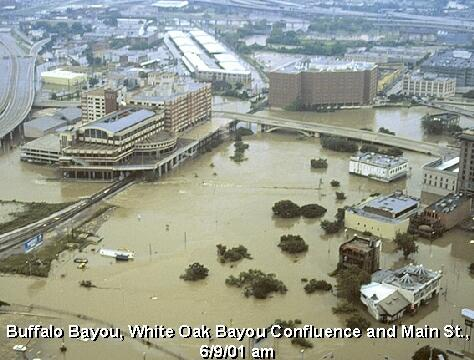4) Tropical Storm Allison