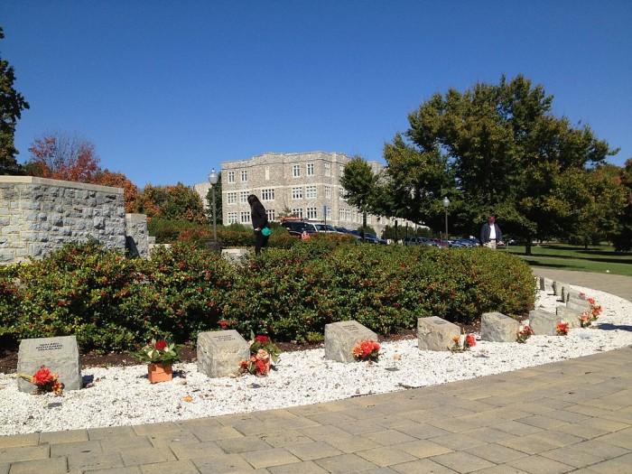 April 16 Memorial, dedicated August 19, 2007