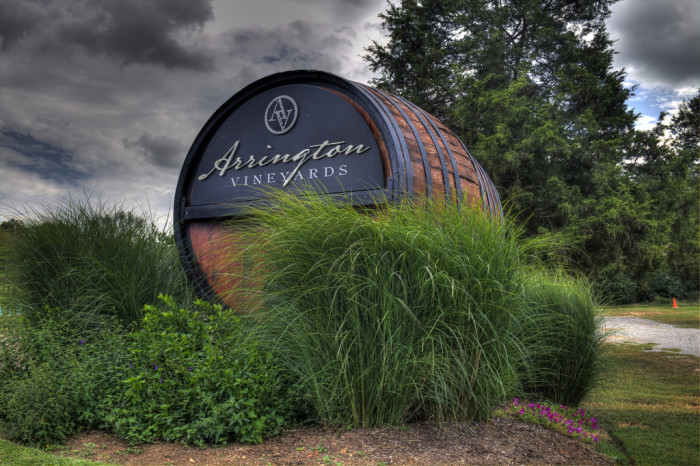 15) Arrington Vineyards