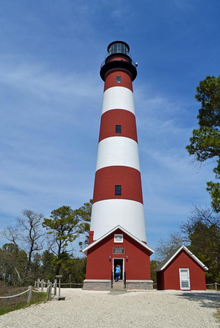 1. Assoteague Lighthouse, Assoteague Island