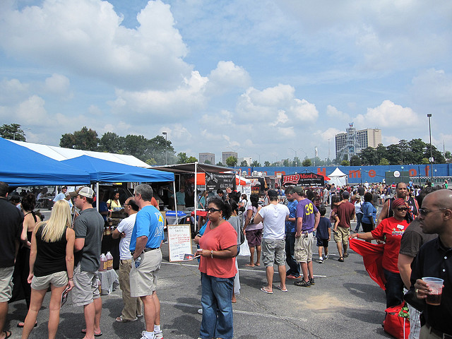 1. Visit the music festivals, all you can drink beer festivals, and the infamous Taste of Atlanta Festival.