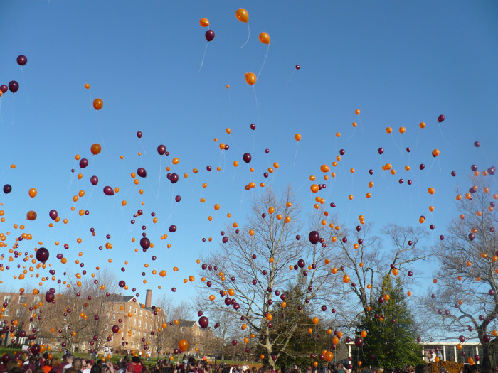Balloons, April 16, 2009