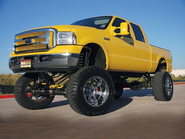 13.) Big Trucks