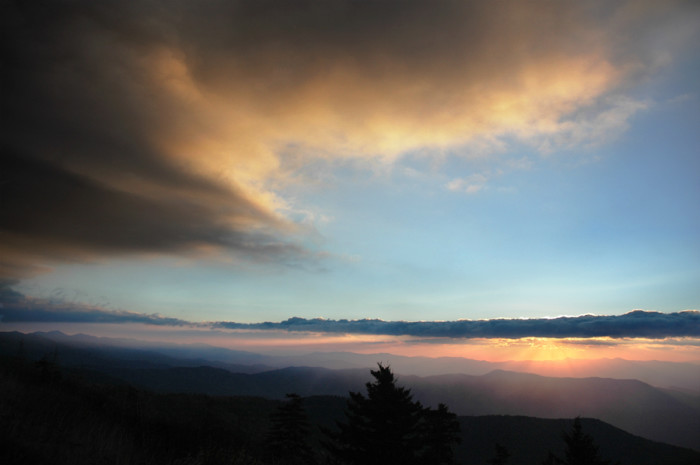 20)  The Blue Ridge Mountains may be known as a relaxing vacation spot, but we prefer to remember it for its gorgeous sunsets.