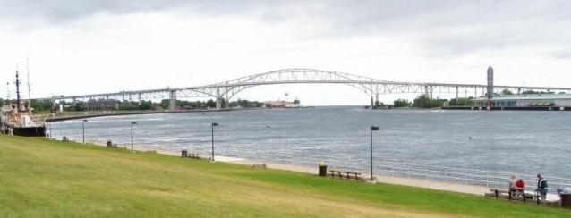 9) Blue Water Bridge, Port Huron