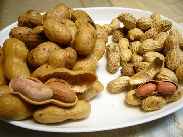 10.) Boiled Peanuts