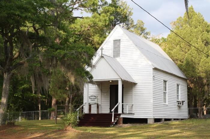 10. Boiling Springs Presbyterian Church, Barnwell, SC