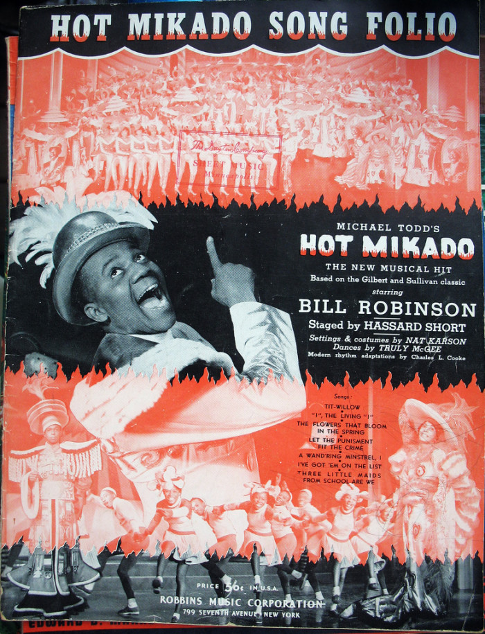 """Bill """"Bojangles"""" Robinson was discovered while working as a bellhop at The Jefferson…or was he?"""