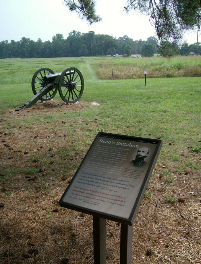 3. Cold Harbor Battlefield: One of the Bloodiest Battles of the Civil War