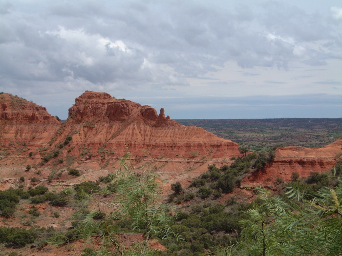 10. You'll think you're in Arizona when you go to the Caprock Canyons near Amarillo, Texas.