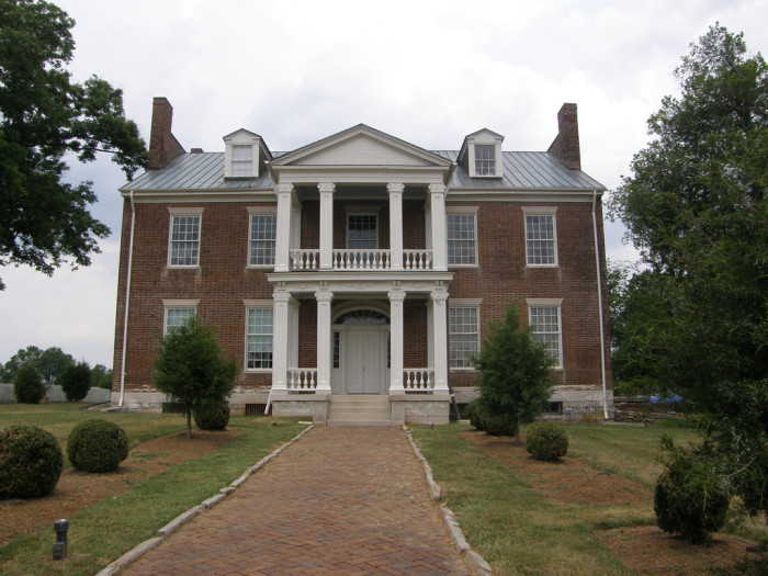 11) Carnton Plantation was used as a hospital following the Battle of Franklin, and remains one of the most impressive mansions in the Nashville area. The property even has a Confederate graveyard on the property that dates back to the great battle.