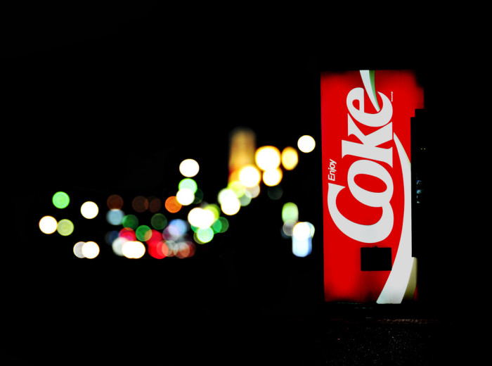 2. Coke is your choice of beverage.