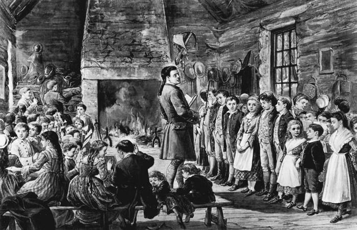 17. Hampton gave us the first free public school.