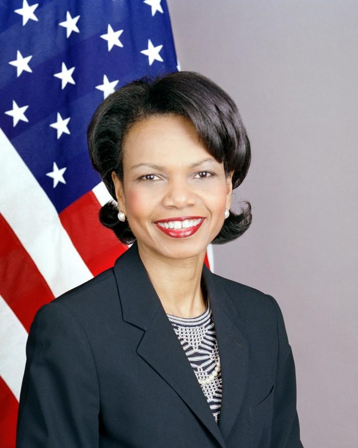 15.) Condoleezza Rice