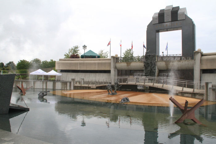 3. National D-Day Memorial, Bedford