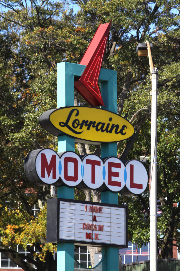 13) Martin Luther King, Jr. took his last breath at the Lorraine Motel in Memphis