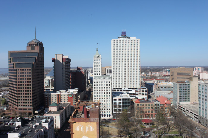 5) Downtown Memphis