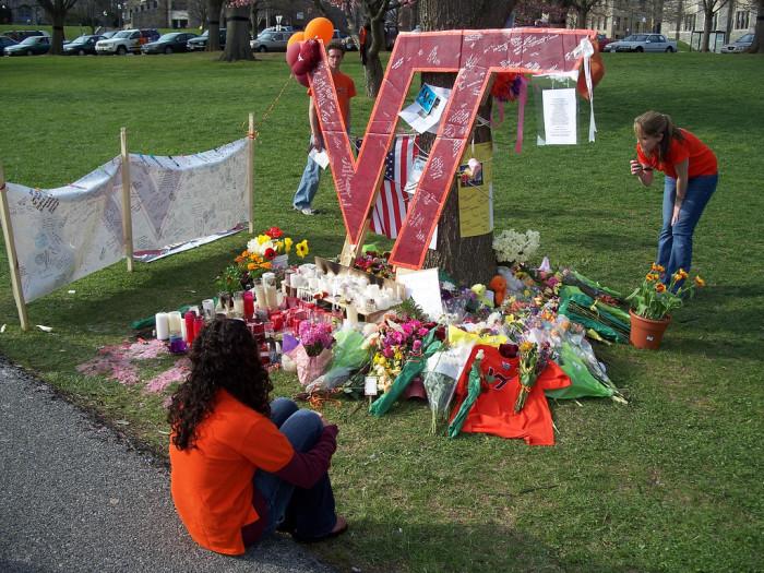 Drillfield Memorial, April 18, 2007