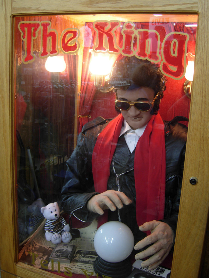5) Elvis the Fortune Teller