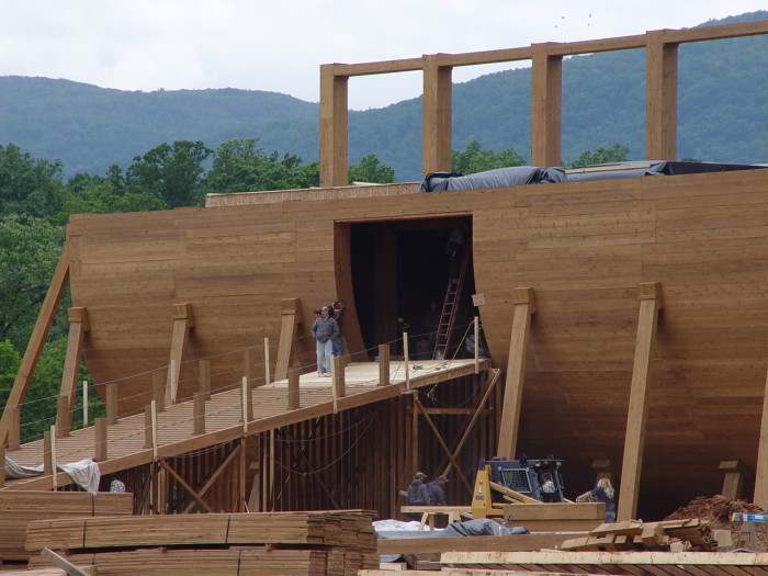 Construction of Noah's Ark from Evan Almighty