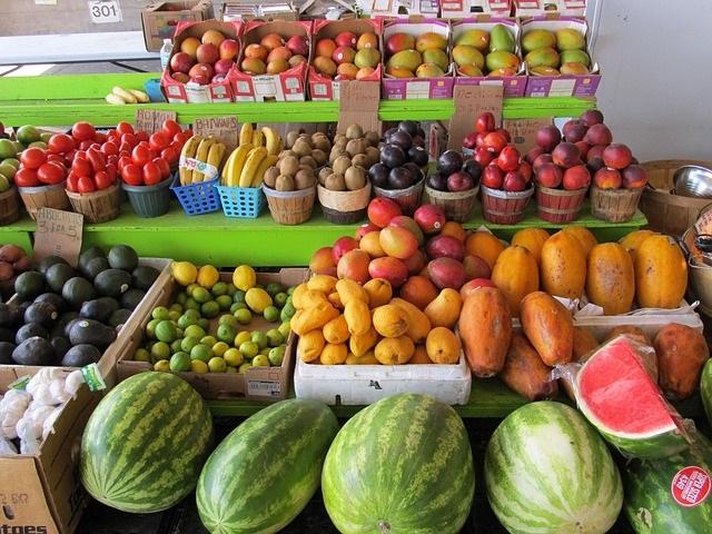 17.) Farmers Markets