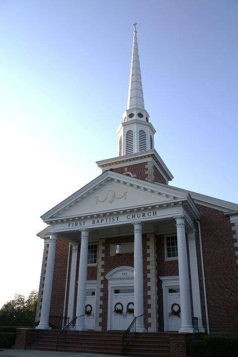 11. First Baptist Church, Barnwell, SC
