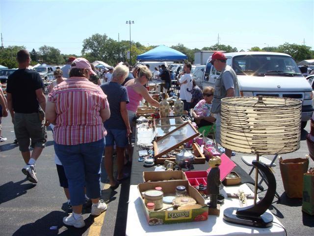 3.) Yard Sales & Flea Markets