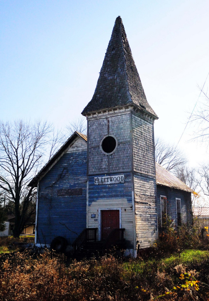 8. Fleetwood Church was built in 1850. It was the site of the largest equestrian battle of the Civil War - and it's for sale. $50,000 and you can own a little part of history.