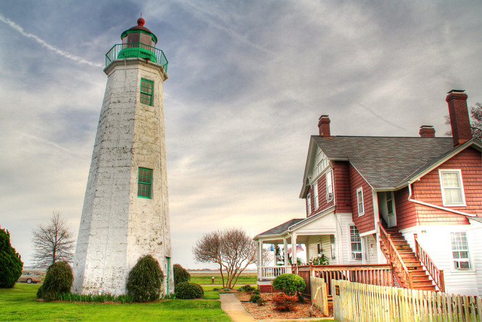 2. Old Point Comfort Lighthouse, Fort Monroe