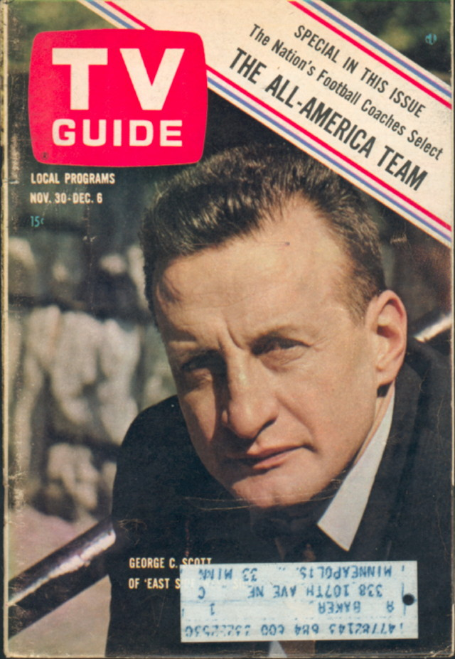12. George C. Scott (actor, director, producer), Wise