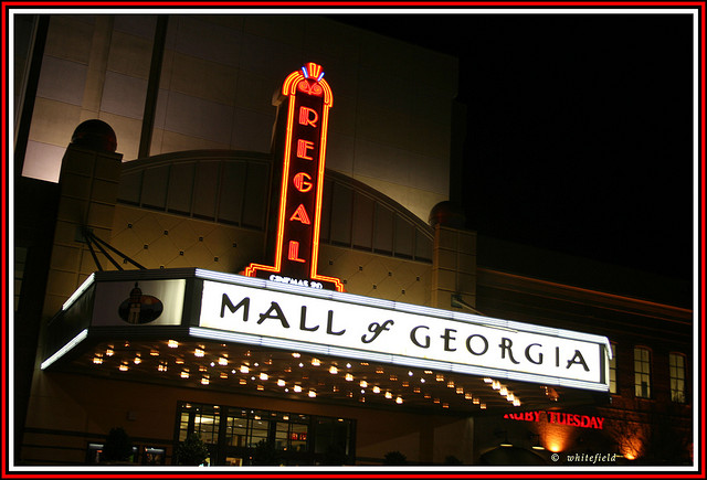 9.  Go to the great Mall of Georgia.