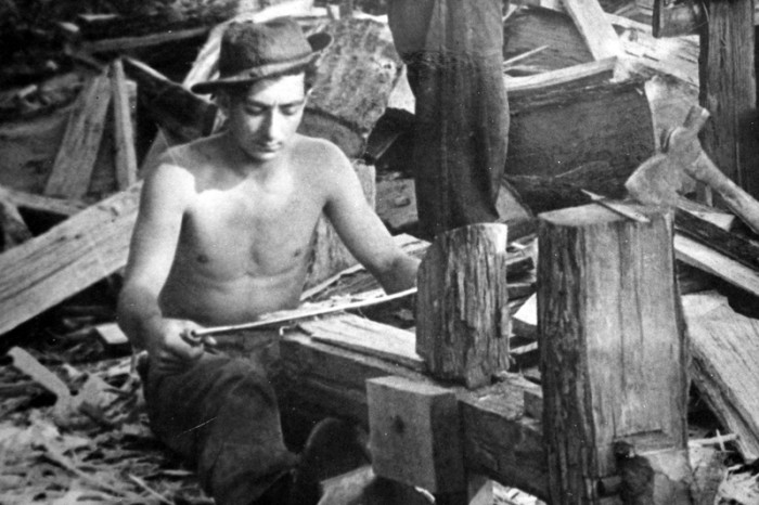 12) Hard at work in the Great Smoky Mountains of Tennessee, date unknown.
